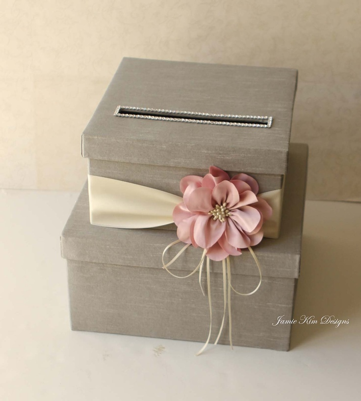 Wedding Card Box Wedding Money Box Gift Card Box - Custom Made. $102.00, via Etsy.