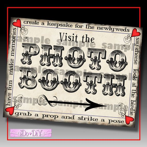 35 best photo booth images on pinterest photo booths booth ideas diy wedding photo booth sign diy wedding digital printable download 8 x 10 inch do it solutioingenieria Images