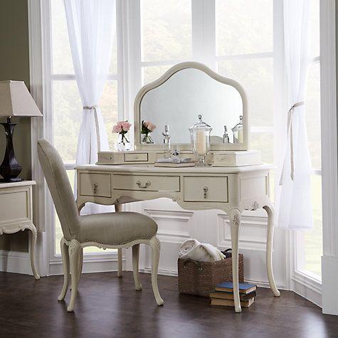 Buy John Lewis Rose Dressing Table Mirror, Ivory Online at johnlewis.com