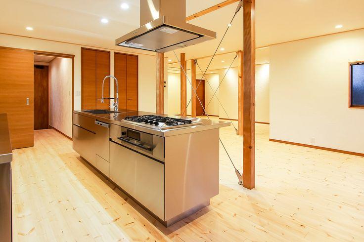 アイランドⅡ型ステンレスキッチン - 上品でスタイリッシュと評判のグラッド45_画像2