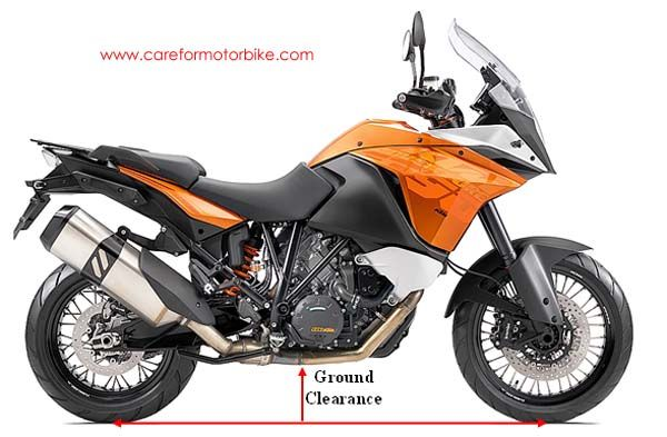 Motorcycle Ground Clearance Ktm Adventure Adventure Motorcycling Ktm