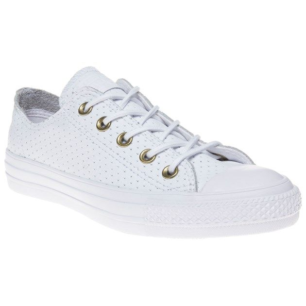 Converse All Star Ox trainers in white/biscuit with free UK delivery. Free  returns via our easy Collect+ service and express delivery available.