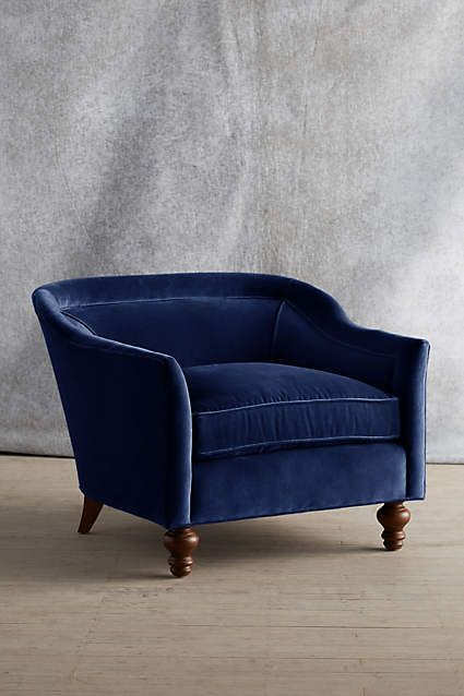 Velvet Holloway Armchair - anthropologie.com #anthrofave #anthropologie