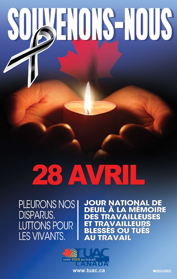 Awesome National Day Of Mourning For Workers Injured Or Killed On The Job U2013 April 28