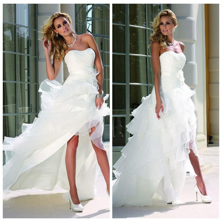 Best High Low Wedding Dresses Ideas Only On Pinterest Tall
