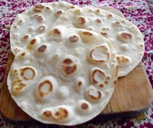 Flour Tortillas GF - (Yield: about 9- 7 inch/18 cm tortillas) •2 cups (280 g) Jeanne's All Purpose Gluten-Free flour mix •1 1/2 teaspoons salt •2 teaspoons baking powder •5 tablespoons unsalted butter, cold and cut into 1 tablespoon pieces •3/4 cup warm water (about 90ºF) •tapioca flour for rolling