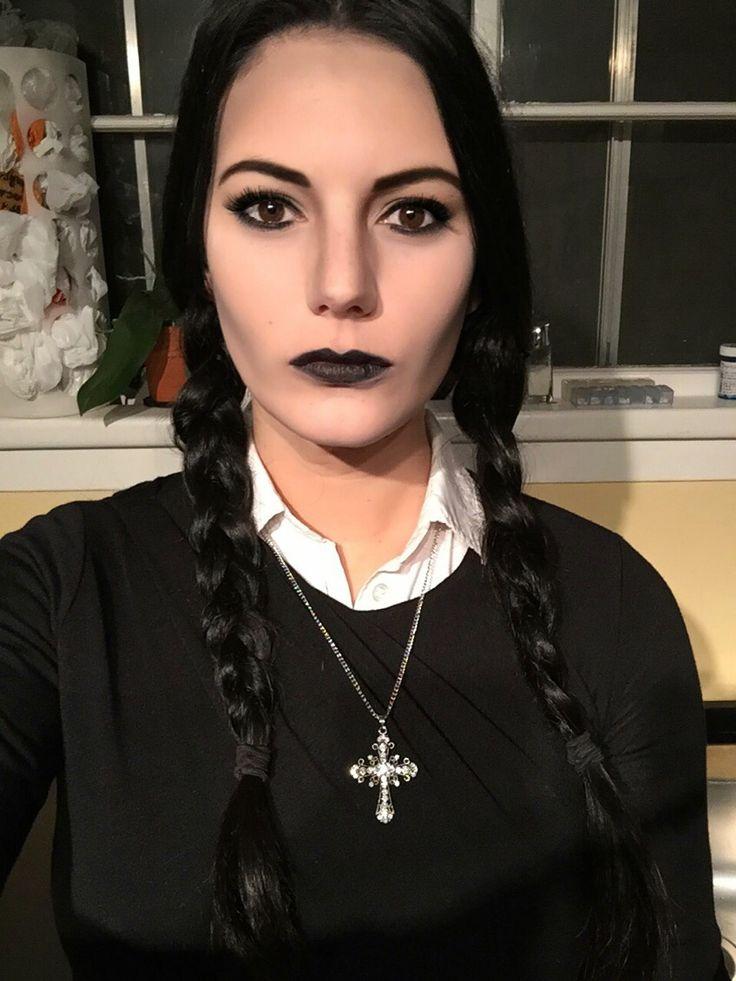 Wednesday Addams Makeup #halloween #wednesday #makeup