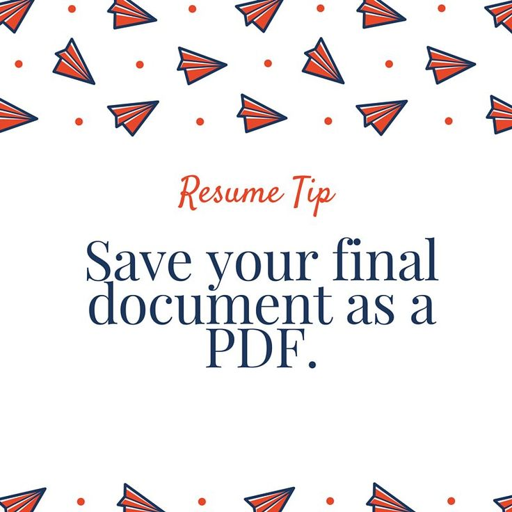 dont send your resume as a doc this can mess up formatting mess upresume cover letterscover letters - What Is Resume Cover Letter
