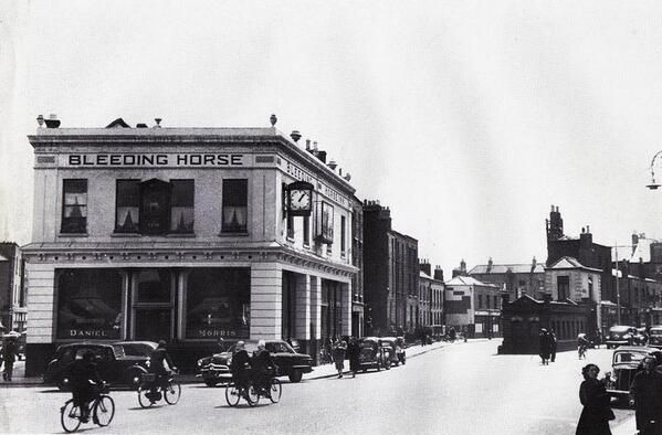 The Bleeding Horse Pub, Camden Street Dublin - c1950