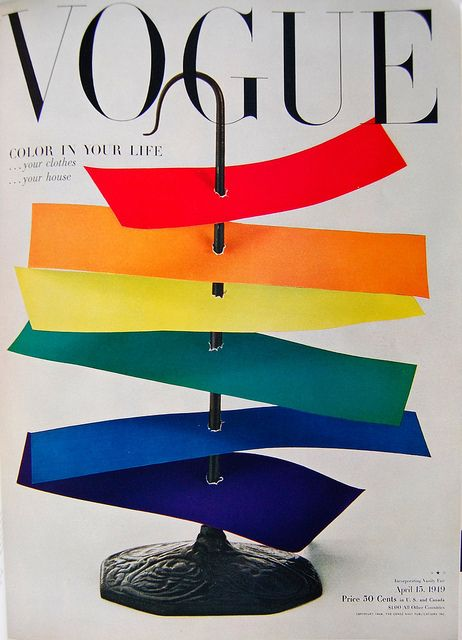 cMag169 - Vogue Magazine cover by Irving Penn / April 1949