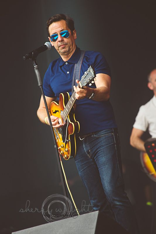 Nick Heyward from Haircut 100 performing at Let's Rock, Temple Newsam in Leeds 2014 - www.sherrywright.co.uk