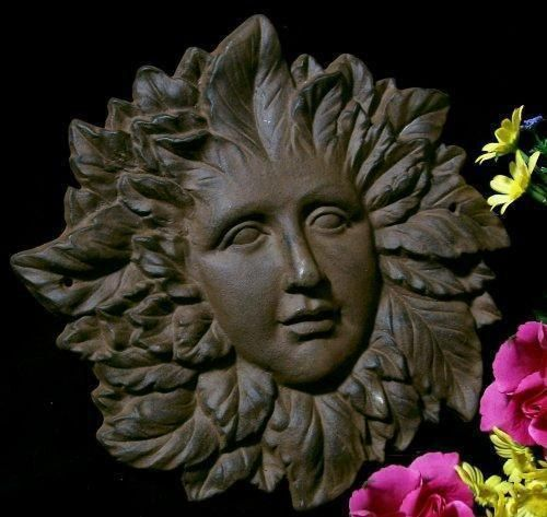 Leaf Lady Plastic Mold to Make Concrete or Cement Plaque. $11.95, via Etsy.