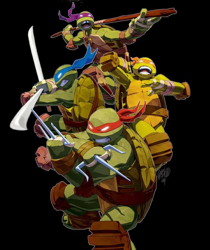 Teenage Mutant Ninja Turtles by Jeff Cruz *
