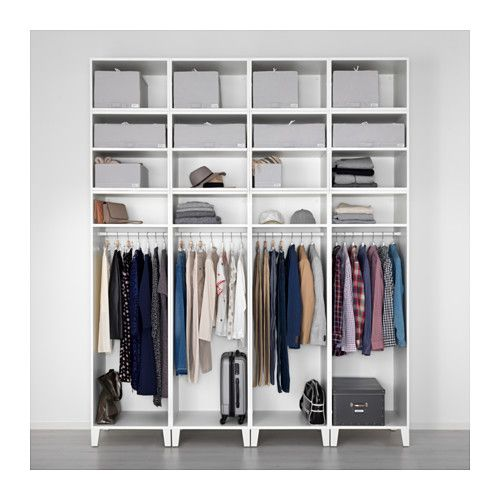Platsa armoire penderie ikea waldeck ikea wardrobe walk in closet et attic rooms for Creer armoire ikea