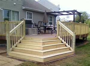Best Corner Stairs Which Direction To Go Deck Steps 400 x 300