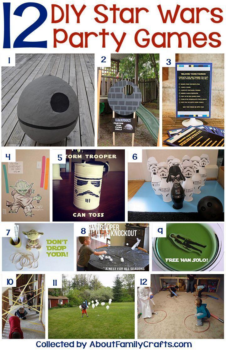best 25 star wars party games ideas on pinterest. Black Bedroom Furniture Sets. Home Design Ideas