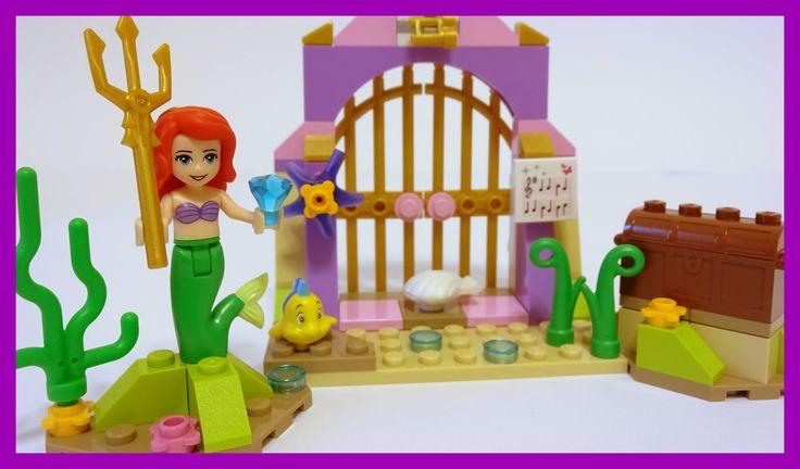 Lego DisneyTM Princess 41050 Ariel's Amazing Treasures - Unboxing, Speed...