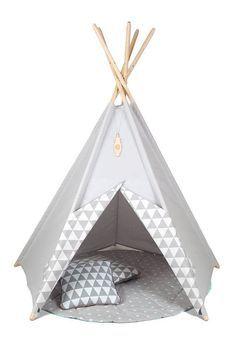 Tipi Kids Play Teepee Tent LittleNOMAD's by TeepeeLittleNOMAD