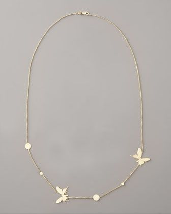 Butterfly Necklace by Lana at Bergdorf Goodman.
