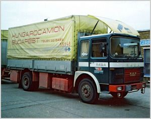 Hungarocamion 1966 - 2006  EDE