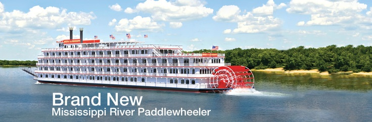 American Cruise Lines  River Cruises all over the U.S. - there are so many great places to see and explore domestically, and river cruising is a great way to do it.