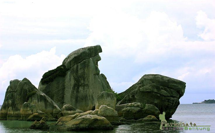 Pulau Burung Belitung: wisata pulau dengan landmark unik dari gerombolan batu granit berbentuk burung. Kemilau objek wisata Belitung