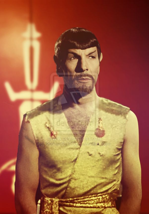 Mirror Spock | MIrror Captain Spock by Richard67915 on deviantART