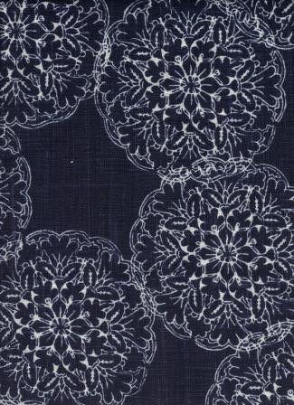 Heston Cobalt - www.BeautifulFabric.com - upholstery/drapery fabric - decorator/designer fabric