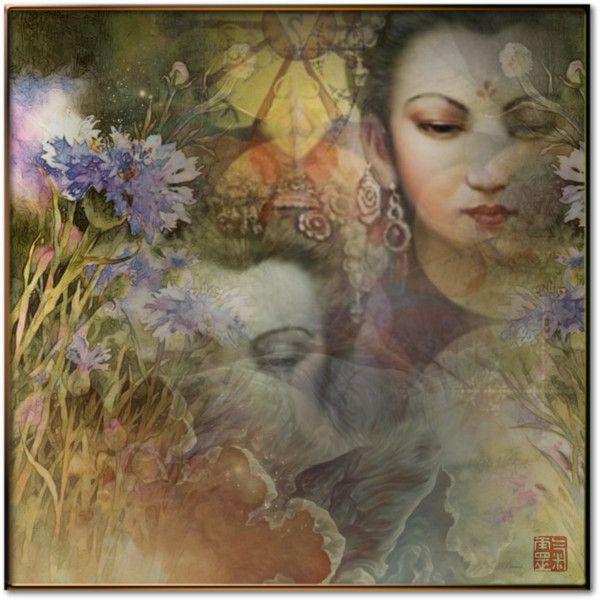 Shakti • Il risveglio della Primavera by fairy-world on Polyvore featuring arte