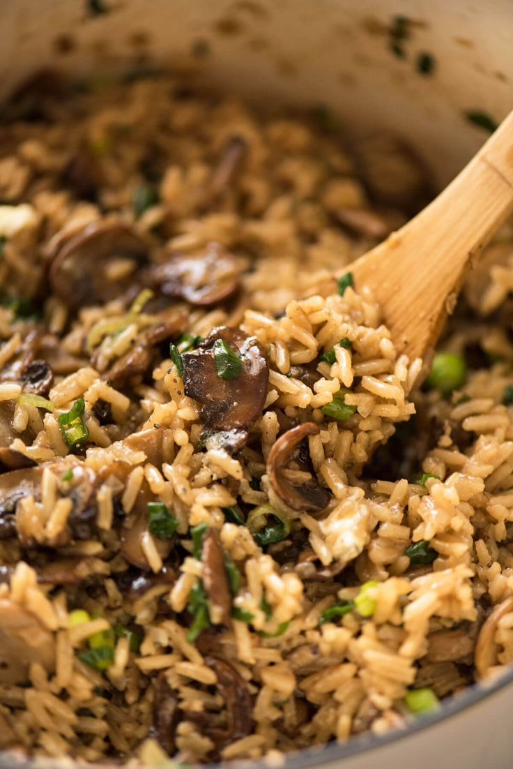 Not just another Mushroom Rice, this one is extra tasty thanks to two little tips that make all the difference! One pot, easy, a meal or fabulous side.