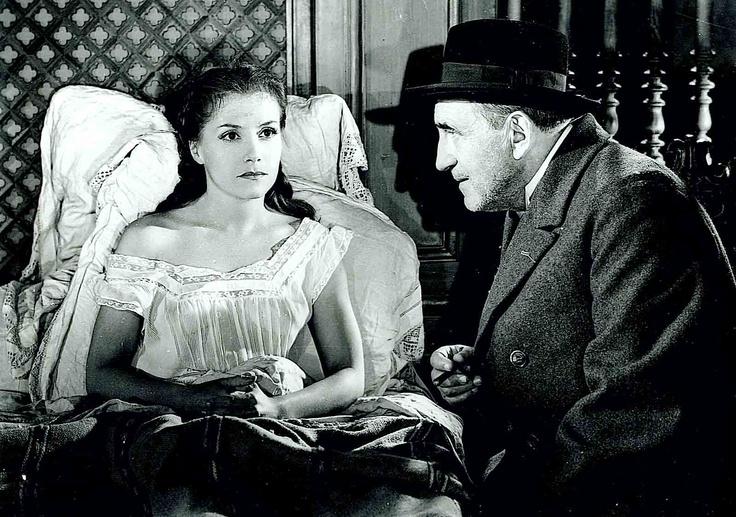 Vera Clouzot et Charles Vanel