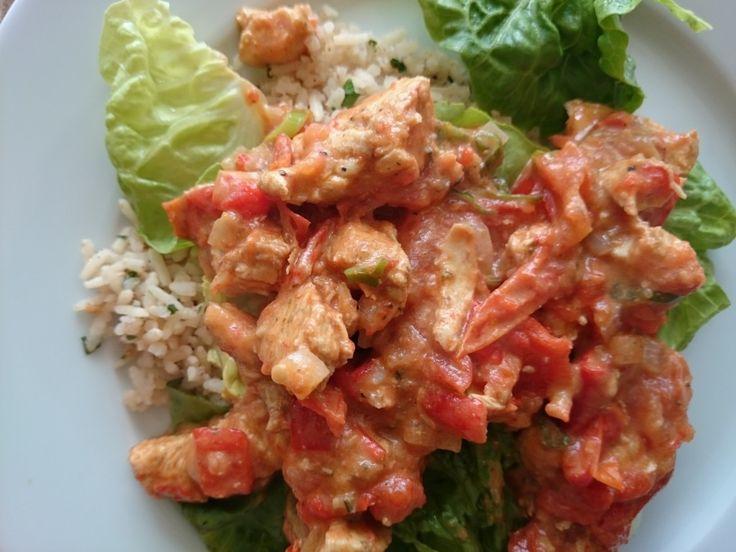 Recept: Kip met rijst en tomaten salsa