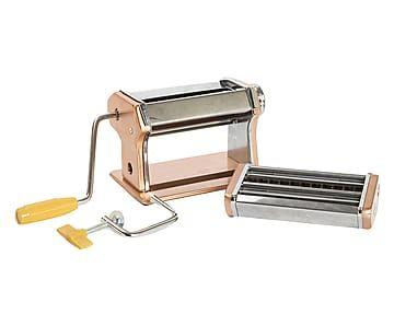 Macchina manuale per pasta in acciao ramato - 21x15x7 cm