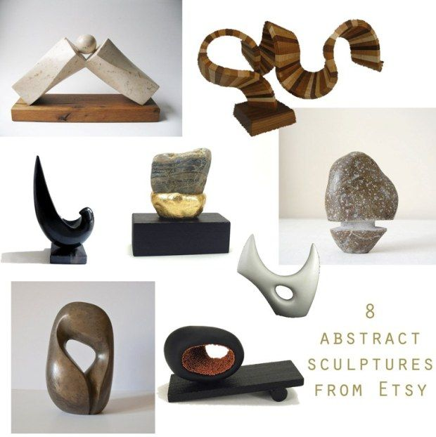 ETSY FINDS | ABSTRACT SCULPTURES | selection made by Dancers Road