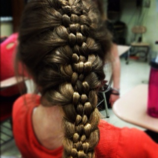 Chemistry class just got so much more interestingFrench Braids, Braids Hairstyles, Chemistry Sara, Sara Ferriel, Freezers Meals, Ferriel Emily, Emily Brewers, The Crafts, Awesome Stuff