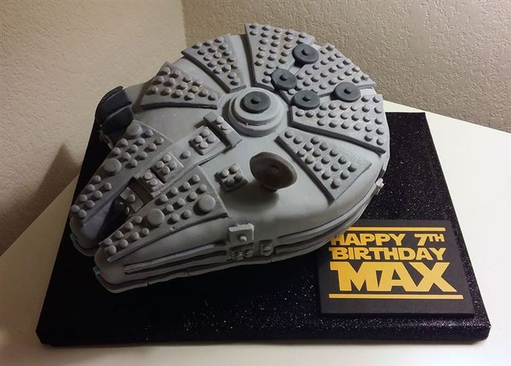 Unleash Your Inner Jedi With These 12 Star Wars-Themed Cakes #StarWars #Cakes