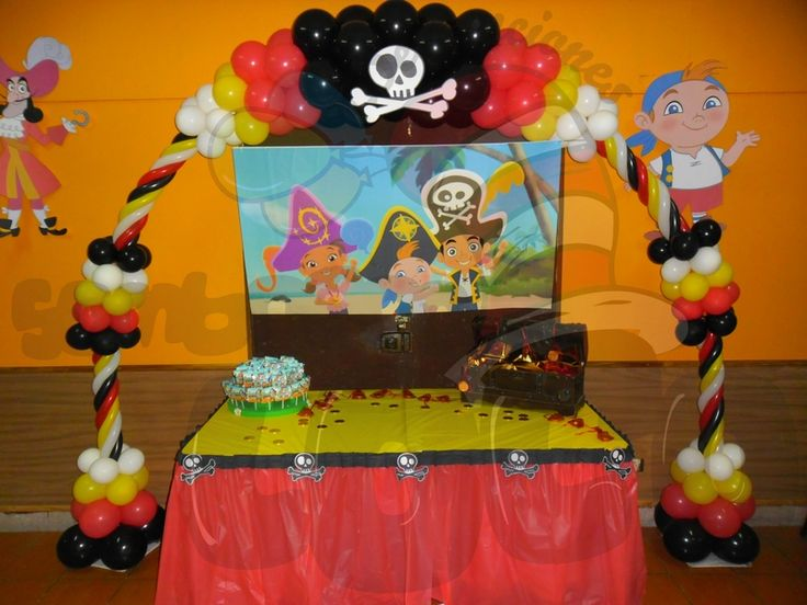 Decoraciónes del pirata jake - Imagui