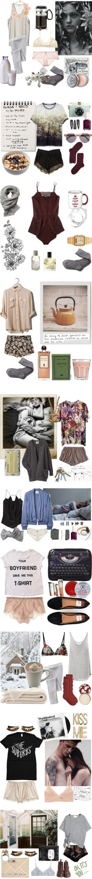 """Mornings"" by kelly-m-o on Polyvore"