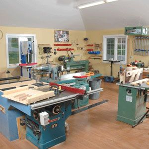 25 unique woodworking shop layout ideas on pinterest for One car garage woodshop
