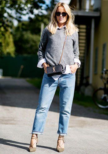 Shoes to wear with boyfriend jeans For Girls