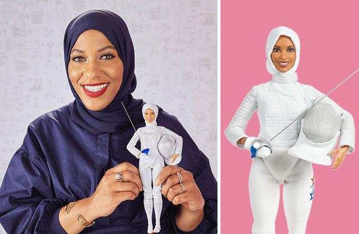 Barbie Unveils 17 New Dolls Based On Inspiring Women Like Ibtihaj Muhammad, Fencing Champion