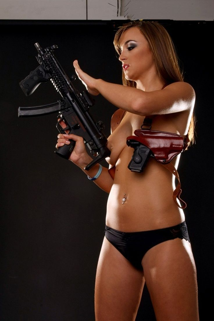 nude latino women with guns