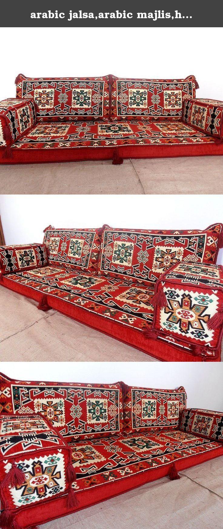 Arabic jalsaarabic majlishookah bar furnitureoriental seatingfloor couchfloor cushionsfloor seatingkilim sofa setscushion covers ma 33