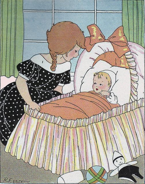 Ruth Eger / Rimskittle's Book: Caroline Eger, Illustrations Children Book, Eger Art, Vintage Children, Ruth Eger, Children Illustrations, Eger Book, New Baby, Ruth Caroline
