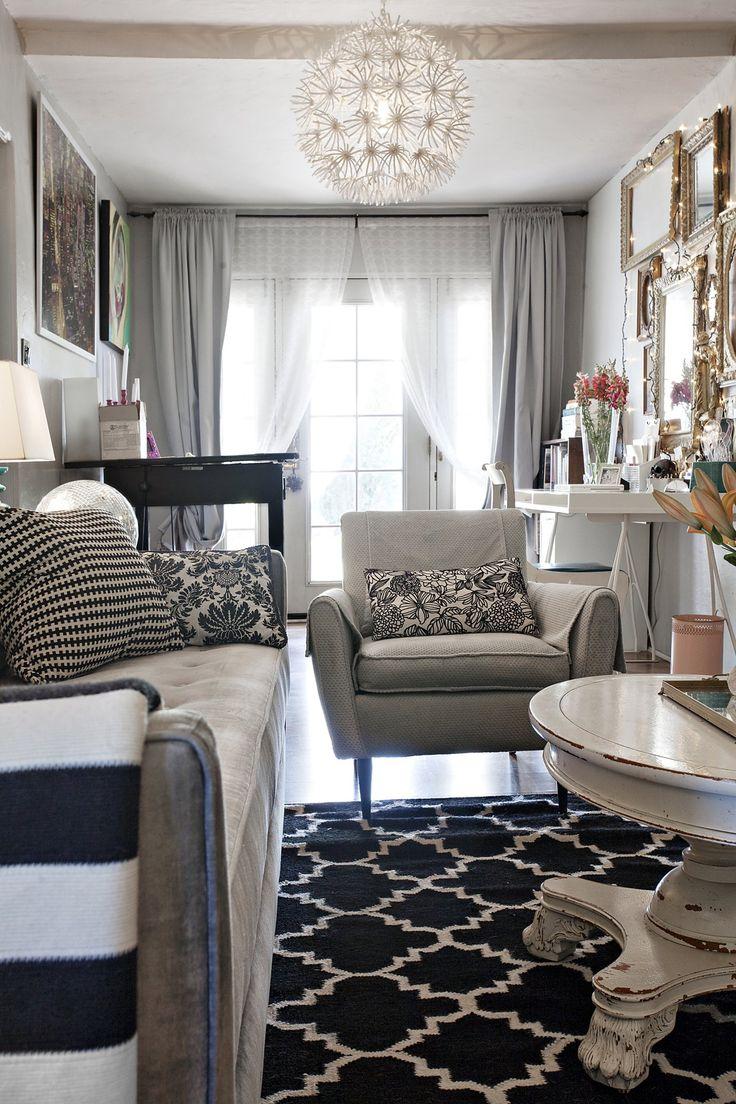 best 25+ double curtains ideas on pinterest | modern living room