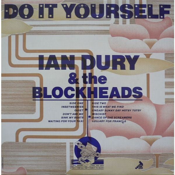 169 best barney bubbles images on pinterest bubbles art ian dury the blockheads do it yourself cover design by barney bubbles solutioingenieria Image collections
