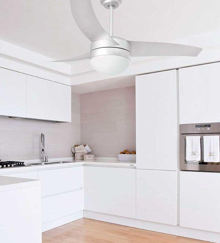 17 mejores ideas sobre ventiladores en el techo de la - Ventilador de techo cocina ...