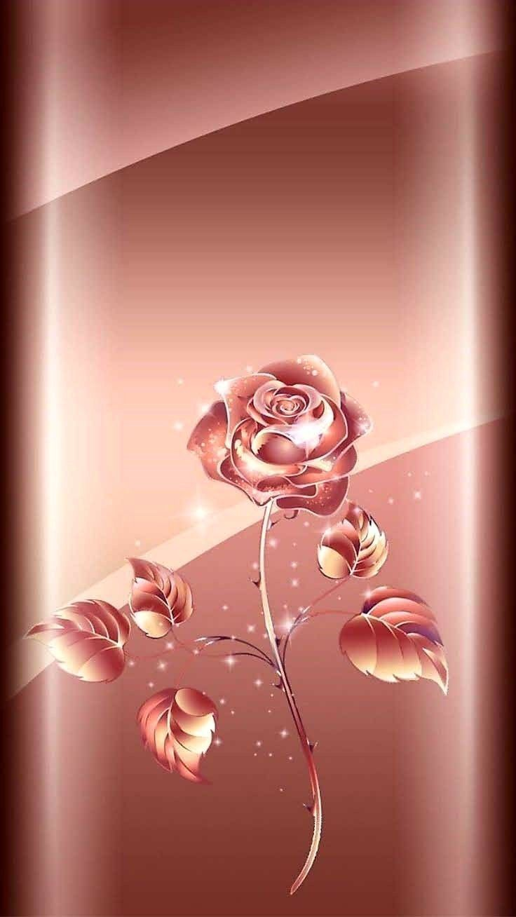 Pin By Mary R Jahnke On Cellphone Wallpaper Gold Wallpaper Background Rose Gold Wallpaper Iphone Rose Gold Wallpaper Iphone flower rose gold wallpaper hd