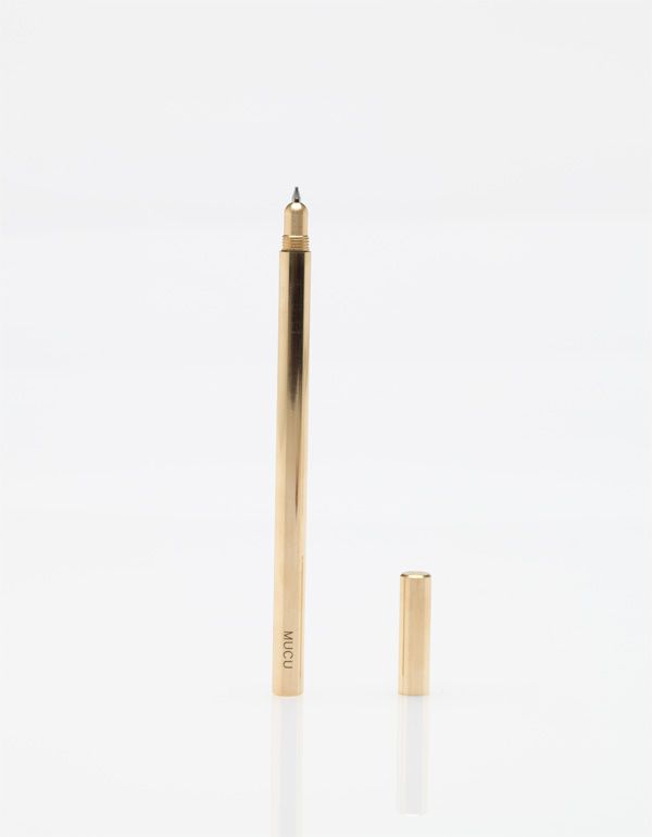 Ballpoint Pen brass No / MUCUMetallic