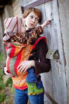 Lenny Lamb S.C. Baby Carrier Wrap Conversion (Toddler) - Autumn